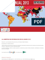 2013 Informe Anual Rsf