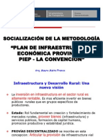 Socialización de La Metodologia PIEP