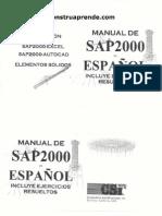 [Sap 2000] Manual Sap2000 Spanish PDF