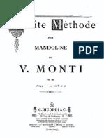 Monti,Vittorio - Petite Methode for Mandolin, Op.245 (Score)