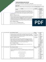 Planificacion Semanal Clase a Clase 2014 Lenguaje Agosto