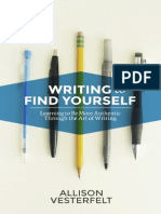 Writing to Find Yourself