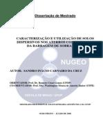 Caracterização e Utilização de Solos