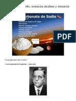 Bicarbonato de sodio, sustancias alcalinas y acidas.docx