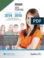 PUBL Aide Votre Portee 2014 2015