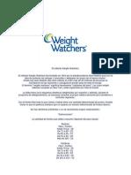 El método Weight Watchers