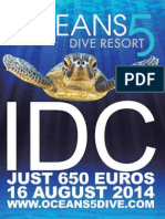 IDC Gili Islands Only for Euro650