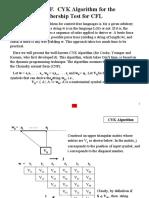 Appendix F. CYK Algorithm