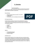 Trabajo e Marketing