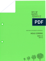 Mos16 - Hole Coring
