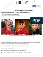 3 Mestres Budistas Foram Perguntados Sobre a Homossexualidade... o Que Responderam_ _ Buda Virtual.com