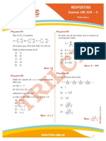 Respuestas Uni2014II Matematica