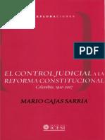 Control Judicial Reforma