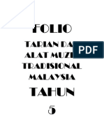 Folio-tarian Dan Alat Muzik