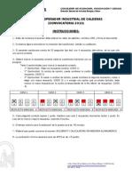 Examen 2010 y Plantilla de Respuestas - Operador Industrial de Calderas