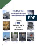 ASHRAE - HVAC Noise and Vibration Control