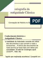 01-08-2011 - Historiografia Da Antiguidade Clássica