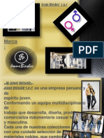 EMPRESA JEANS BIESHER S.a- Diapositivas de Exposicion