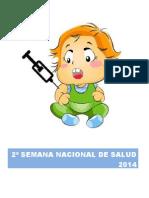 2ª Semana Nacional de Salud 2014