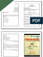 Diptico de Lit.regional