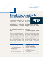 Competitividad y Crecimiento UNA PERSPECTIVA REGIONAL