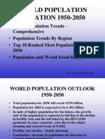 World Population 1950-2050