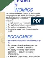Extended Essay Economics 1
