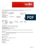 Lion Air ETicket (DWAWBX) - Pauned