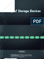 History of Storage Devices