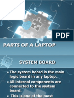 Parts of a Laptop