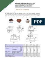 Orient-catalogue for Porcelain Pin Type Insulators