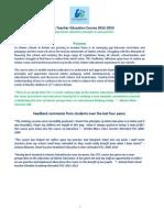 Course Handbook 2012-2013