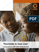 Conversations With Care Humanitarians