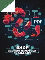 UA&P Student Handbook 2014-2015