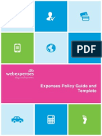 Tu Expensespolicyguidetemplate