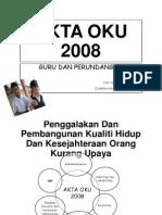 Akta Oku 2008 (Print)