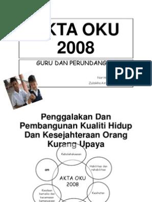 Akta Oku 2008 Print