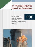 Death by Ekkxplosion and Thermal Injhjkhkhjuries