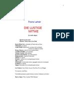 La Viuda Alegre de Franz Lehár