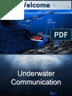 Under Water Communication