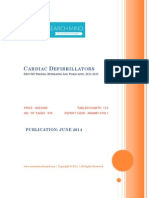 Cardiac Defibrillators, 2012-2018 - BRICSS