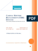 Global Cardiac Rhythm Management (CRM) Devices - 2012-2018