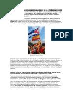 Cuba y El Despertar de Los Nacionalismos en La España Peninsular