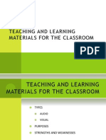 Topic 1-Teaching and Learning Materials for the Classroom