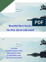 short surah's from quran
