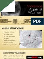 GROUP 2- Voilence Against Women