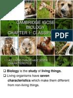 IGCSE Biology Chapter 1