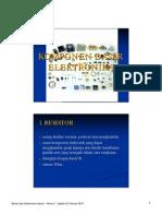 Komponen Dasar Elektronika
