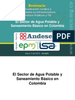 Organizacion Sector Agua Colombia