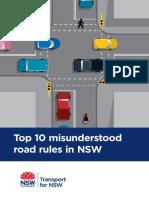 Top 10 Misunderstood Road Rules